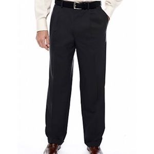 NWT Black Ralph Lauren pleated dress pants